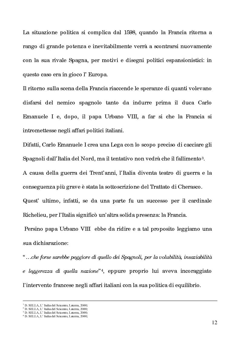 Anteprima della tesi: I processi per debito nella Roma del 1600, Pagina 7