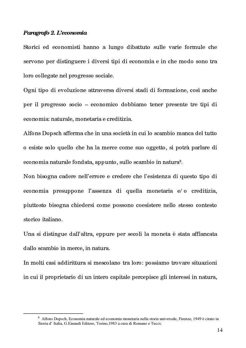 Anteprima della tesi: I processi per debito nella Roma del 1600, Pagina 9