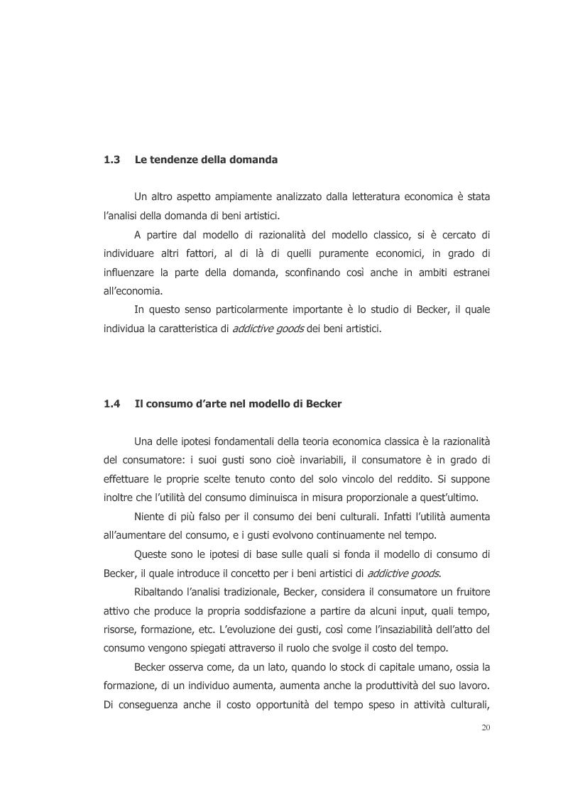 Anteprima della tesi: L'ecosistema culturale e l'analisi dei beni artistici come risorse non rinnovabili, Pagina 11