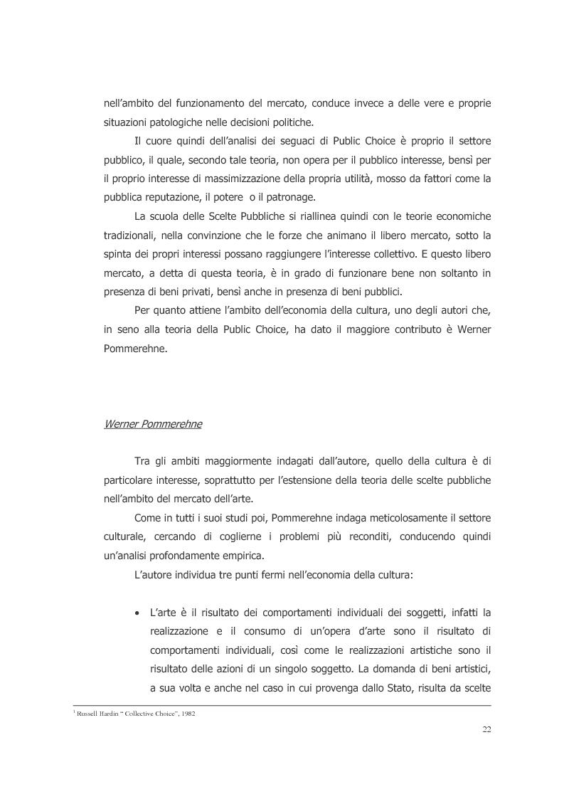 Anteprima della tesi: L'ecosistema culturale e l'analisi dei beni artistici come risorse non rinnovabili, Pagina 13
