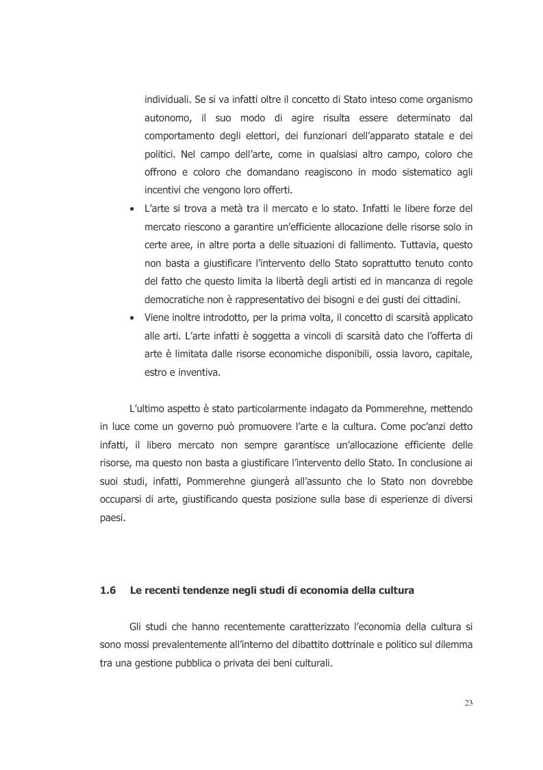 Anteprima della tesi: L'ecosistema culturale e l'analisi dei beni artistici come risorse non rinnovabili, Pagina 14