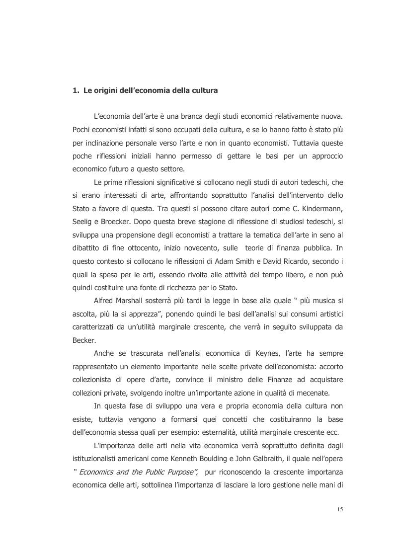 Anteprima della tesi: L'ecosistema culturale e l'analisi dei beni artistici come risorse non rinnovabili, Pagina 6
