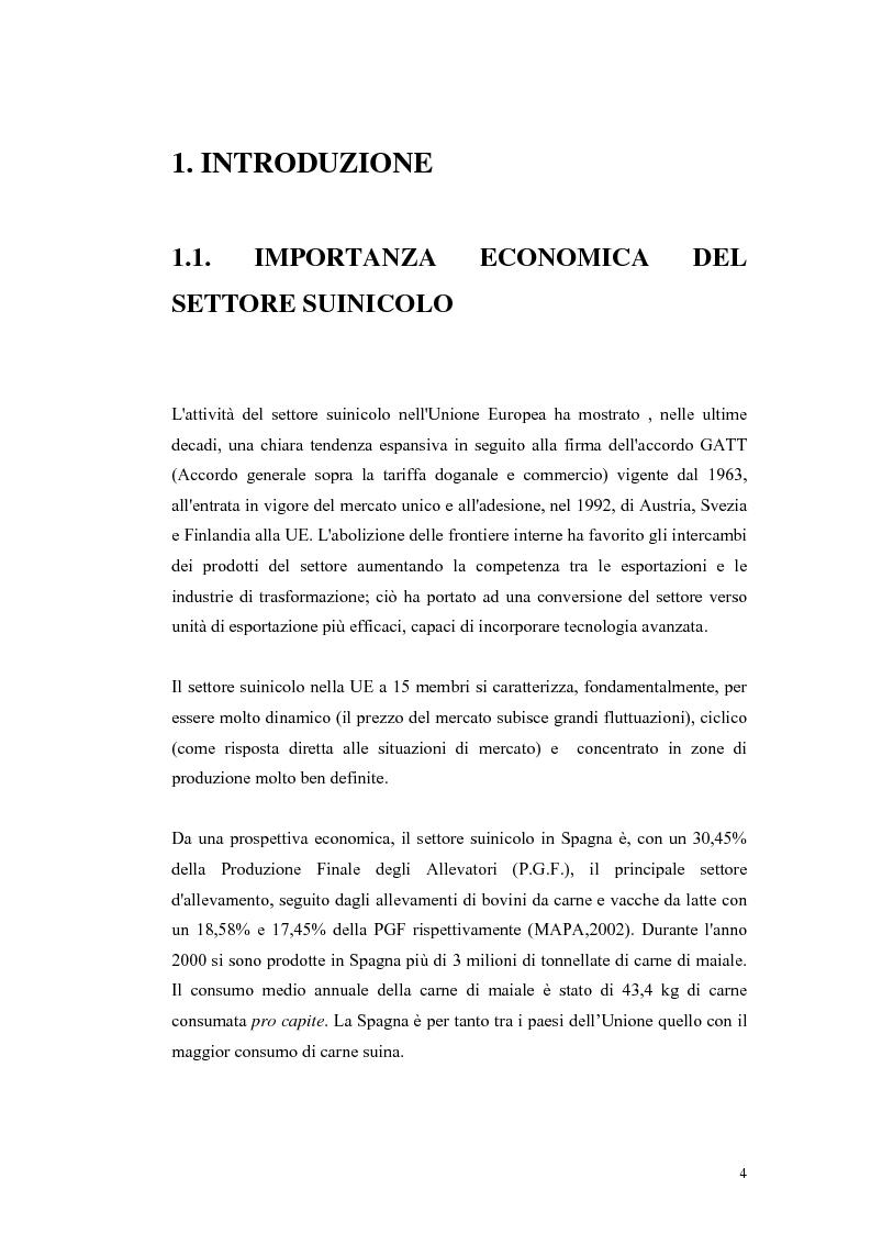 Anteprima della tesi: Polimorfismi SNP nel gene candidato BMPR1B per la prolificità nel suino in incroci Iberico X Meishan, Pagina 1