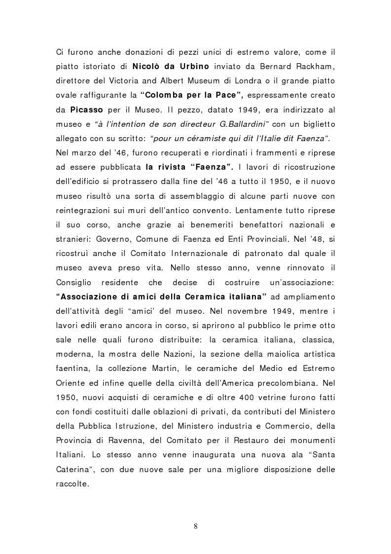 Anteprima della tesi: Da pubblico a privato: Il Museo Virtuoso. La Fondazione MIC di Faenza., Pagina 8