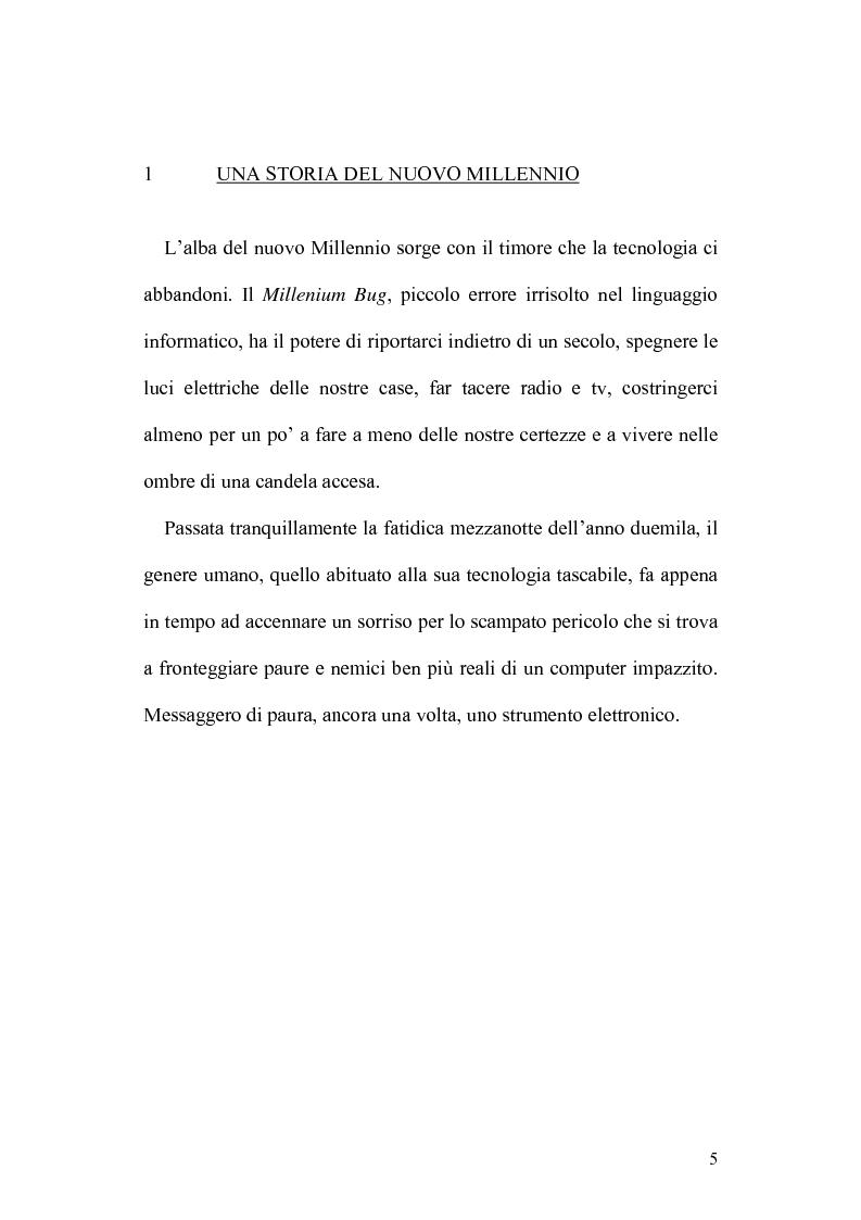 Anteprima della tesi: 11 Settembre 2001: Un Giorno Qualunque, Pagina 1