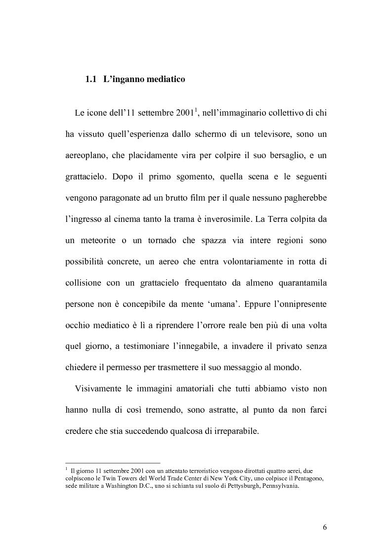 Anteprima della tesi: 11 Settembre 2001: Un Giorno Qualunque, Pagina 2