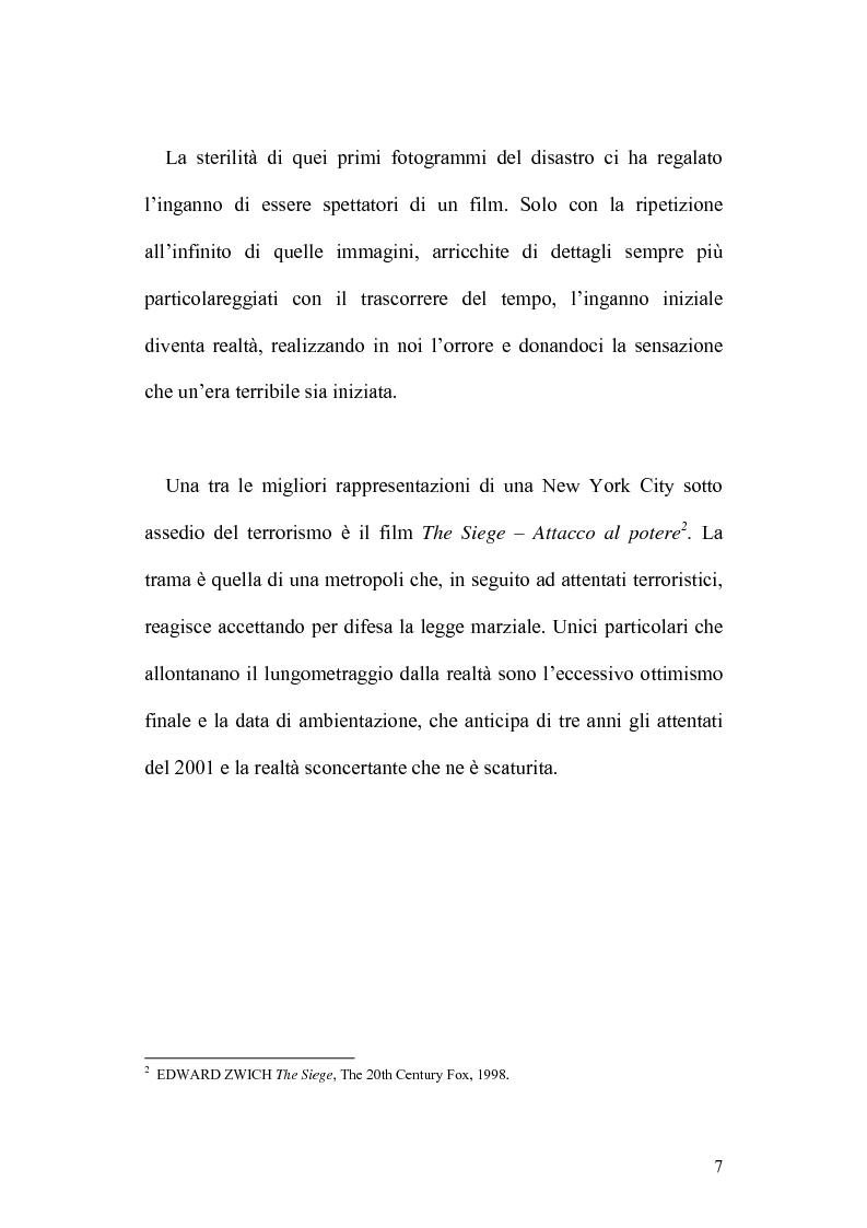 Anteprima della tesi: 11 Settembre 2001: Un Giorno Qualunque, Pagina 3