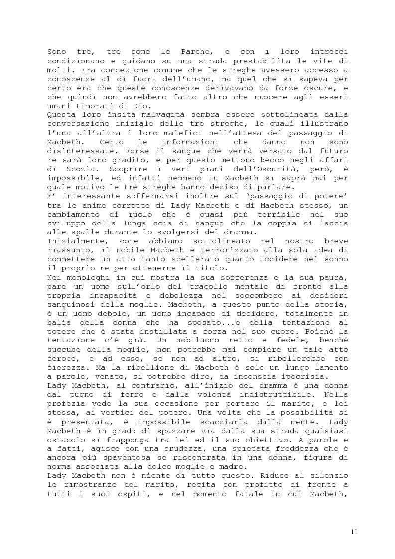 Anteprima della tesi: Il romanzo fantastico - Breve saggio da William Shakespeare ai giorni nostri, Pagina 11