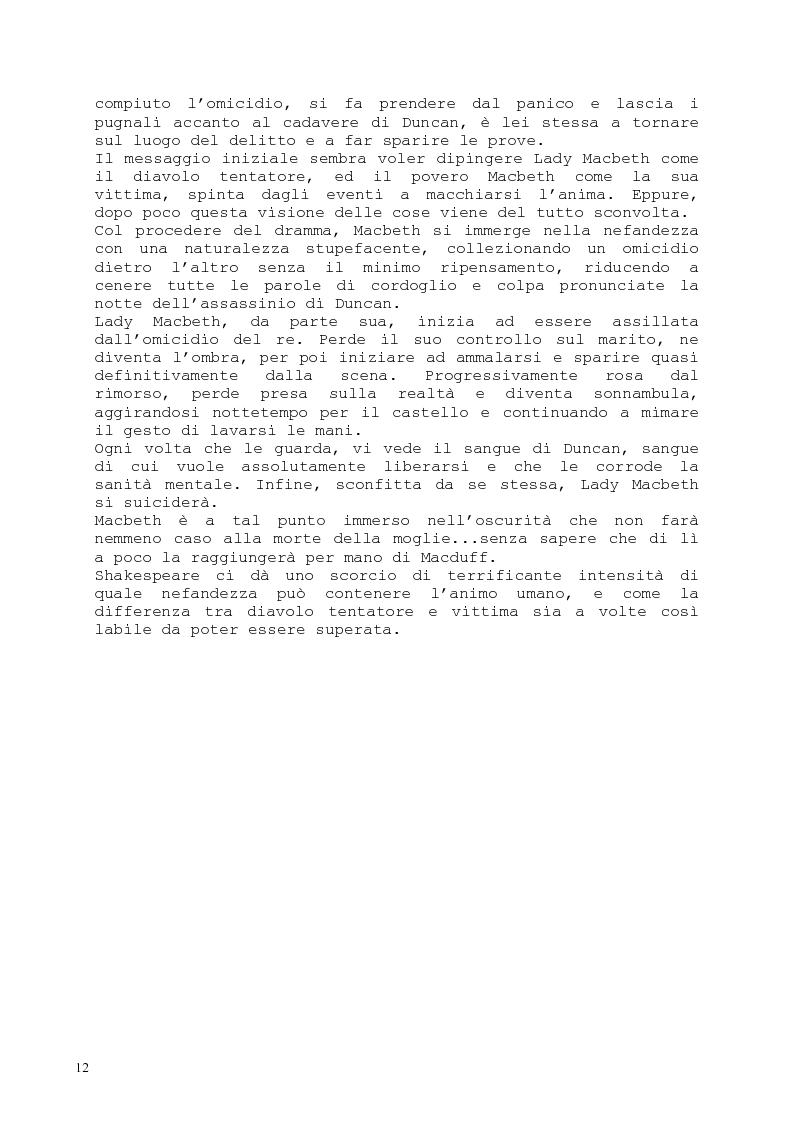 Anteprima della tesi: Il romanzo fantastico - Breve saggio da William Shakespeare ai giorni nostri, Pagina 12