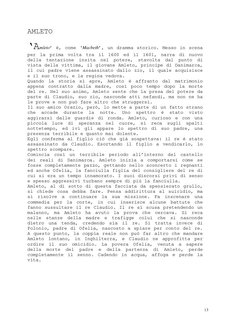Anteprima della tesi: Il romanzo fantastico - Breve saggio da William Shakespeare ai giorni nostri, Pagina 13