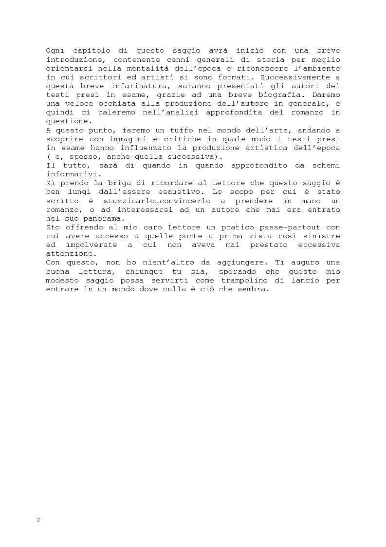 Anteprima della tesi: Il romanzo fantastico - Breve saggio da William Shakespeare ai giorni nostri, Pagina 2