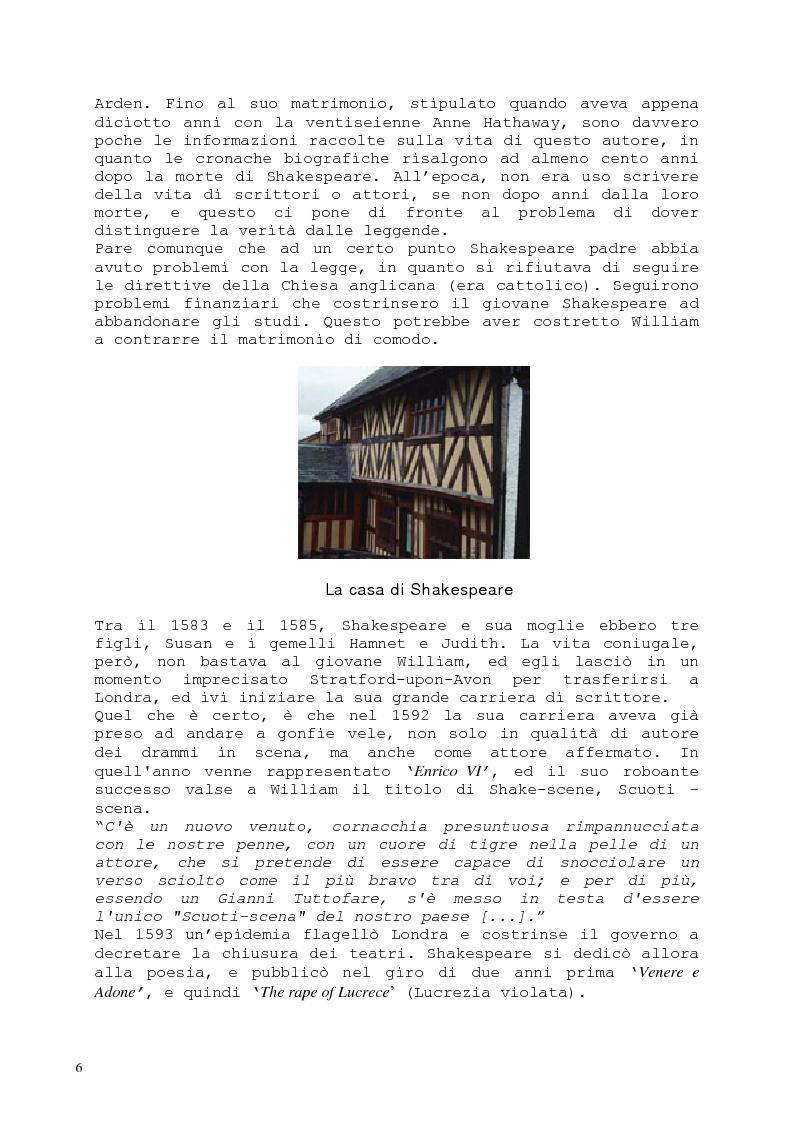 Anteprima della tesi: Il romanzo fantastico - Breve saggio da William Shakespeare ai giorni nostri, Pagina 6