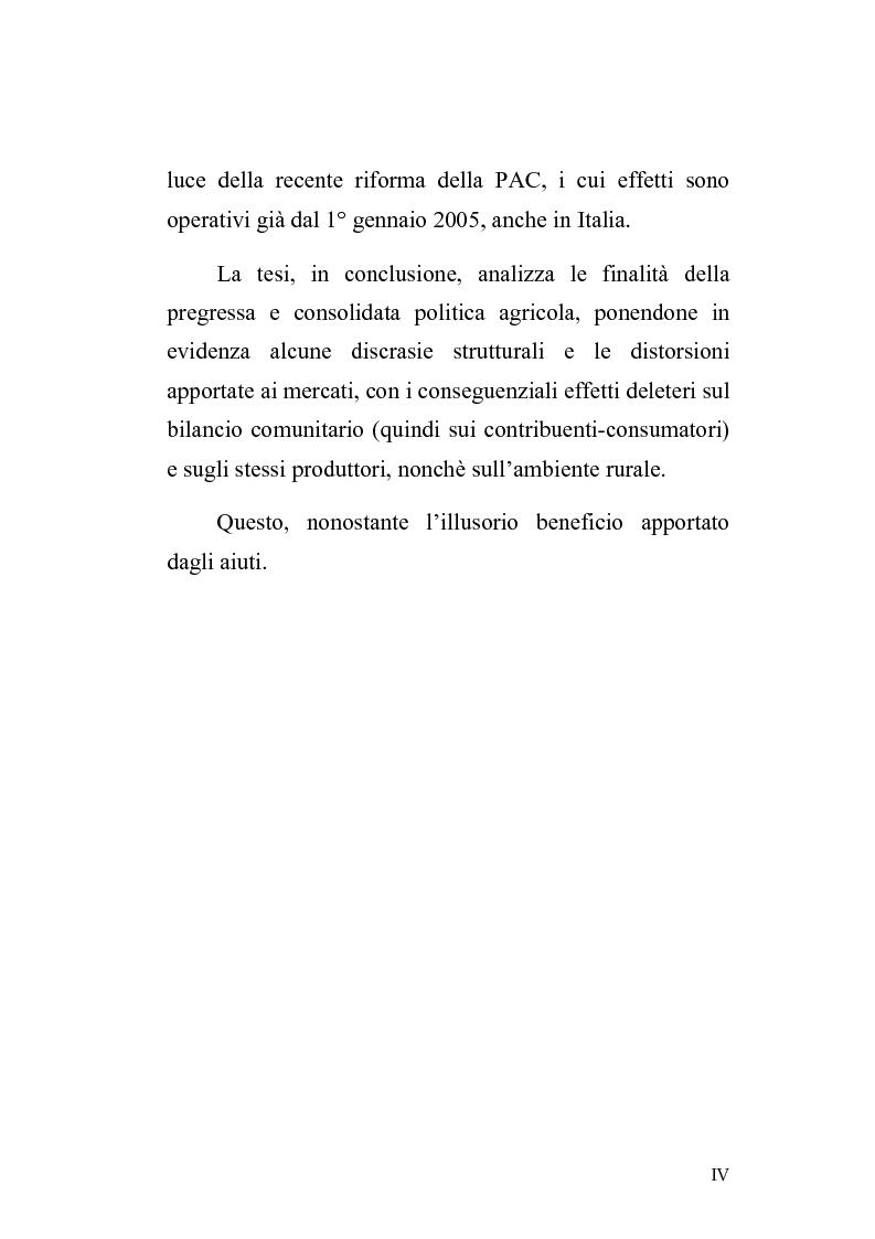 Anteprima della tesi: La politica agricola comunitaria: alcuni effetti distorsivi, Pagina 2