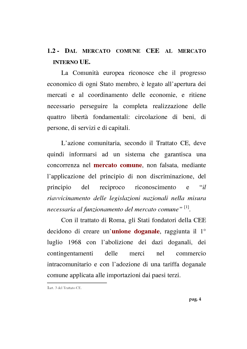 Anteprima della tesi: La politica agricola comunitaria: alcuni effetti distorsivi, Pagina 6
