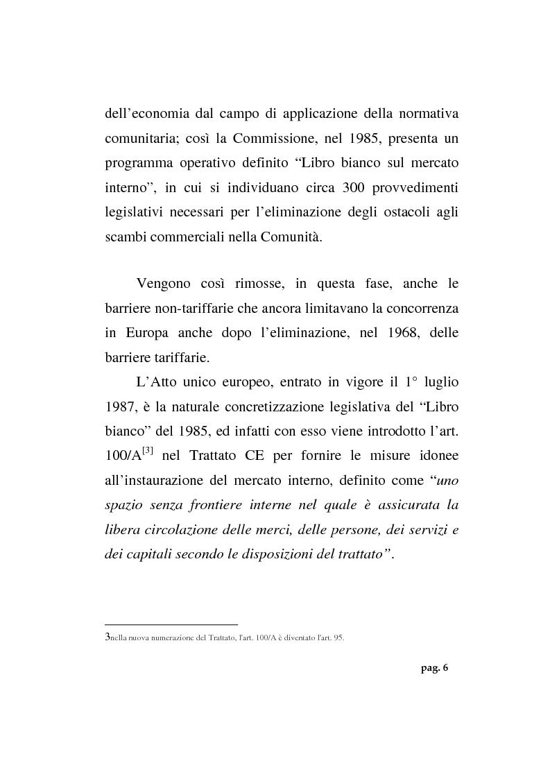 Anteprima della tesi: La politica agricola comunitaria: alcuni effetti distorsivi, Pagina 8