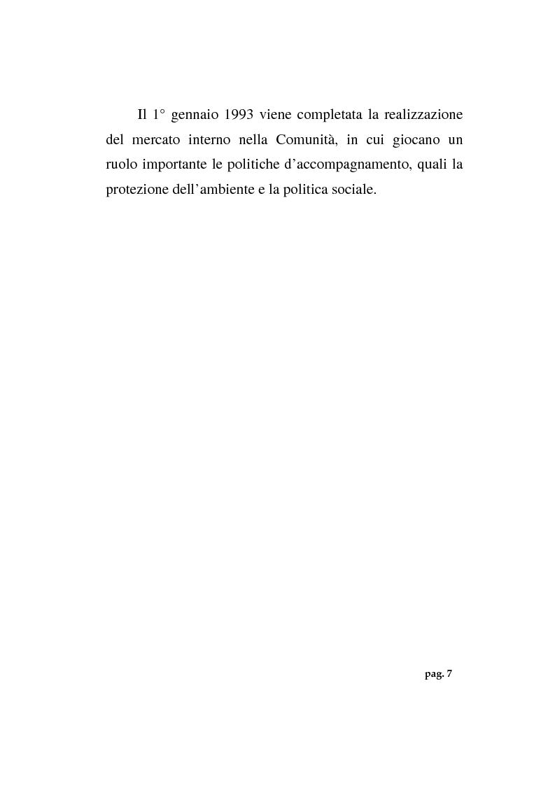 Anteprima della tesi: La politica agricola comunitaria: alcuni effetti distorsivi, Pagina 9
