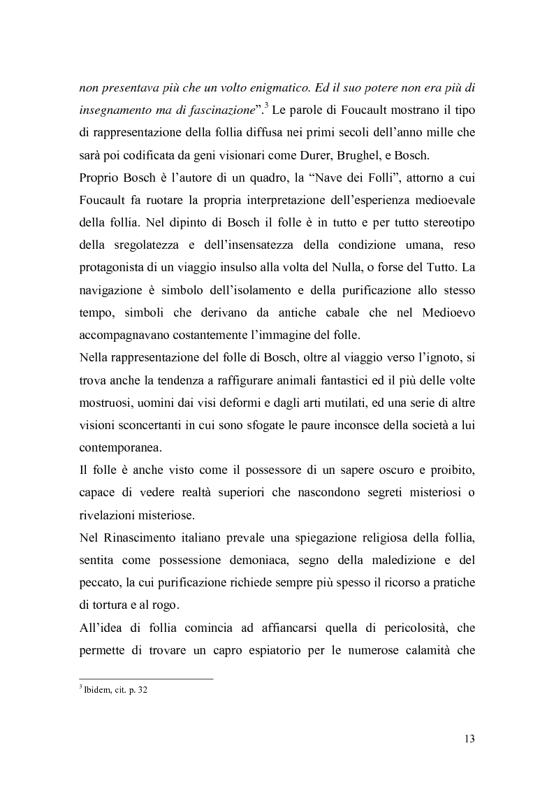 Anteprima della tesi: Il trattamento della malattia mentale. Il CSM di Rimini, Pagina 13