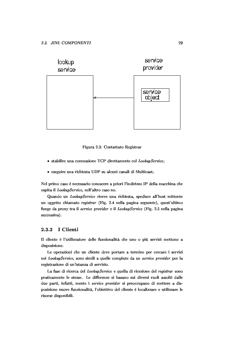 Anteprima della tesi: JJPF: uno strumento per calcolo parallelo con JINI, Pagina 15