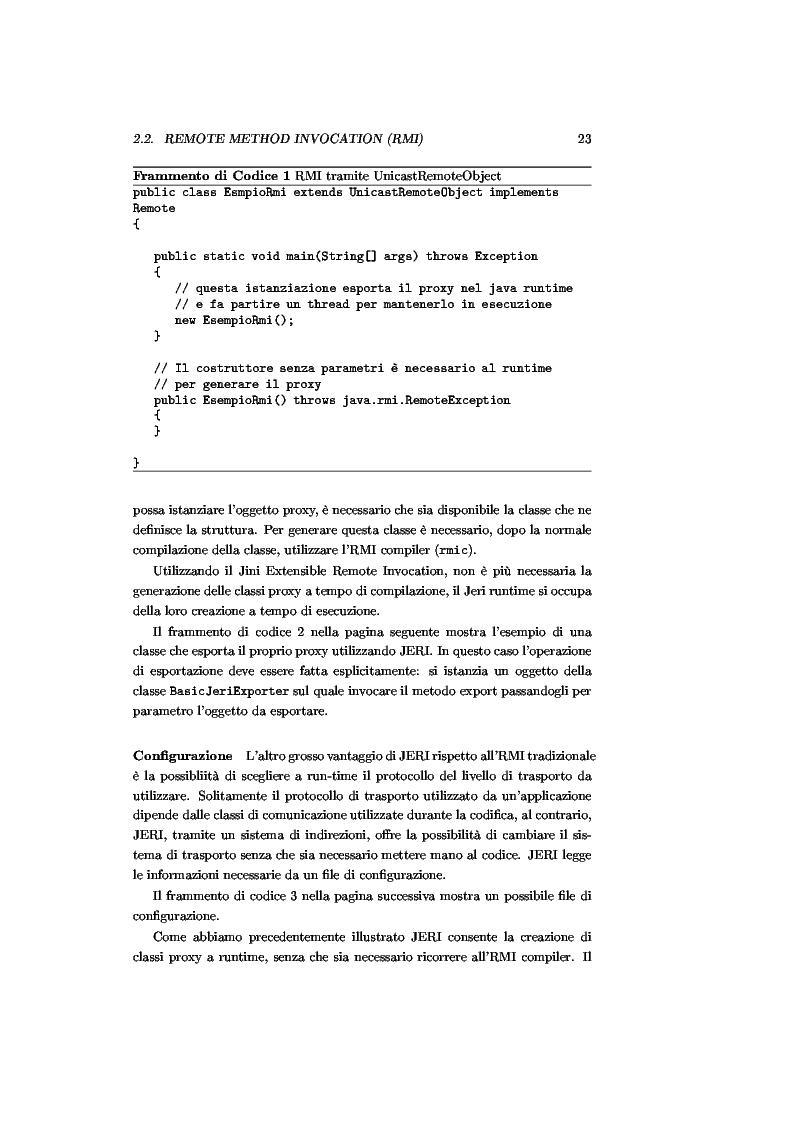 Anteprima della tesi: JJPF: uno strumento per calcolo parallelo con JINI, Pagina 9