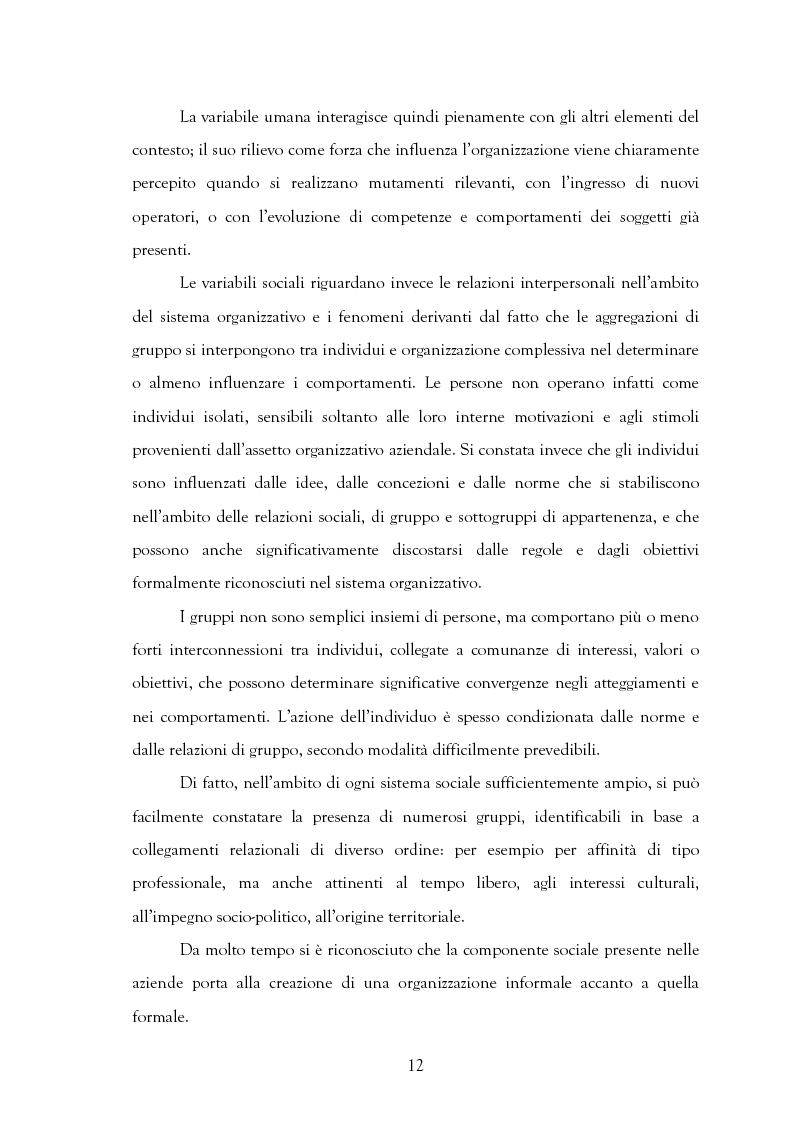 Anteprima della tesi: La motivazione nelle politiche aziendali. Il caso: Getrag SpA, Pagina 12