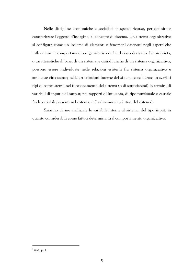Anteprima della tesi: La motivazione nelle politiche aziendali. Il caso: Getrag SpA, Pagina 5