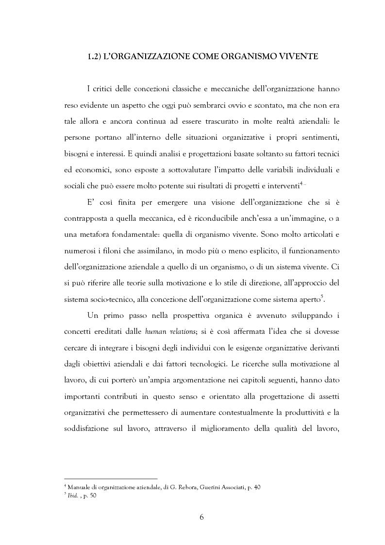 Anteprima della tesi: La motivazione nelle politiche aziendali. Il caso: Getrag SpA, Pagina 6
