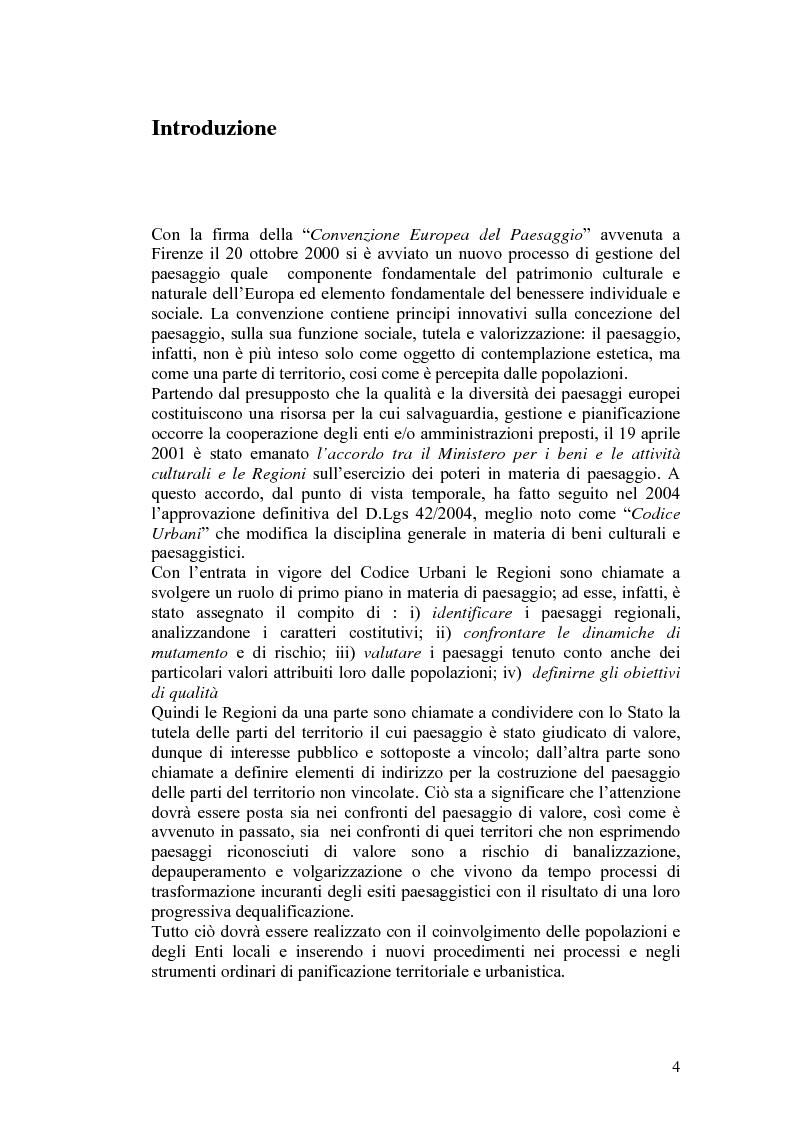 Anteprima della tesi: Il paesaggio agrario e le politiche paesaggistiche della regione Umbria, Pagina 1