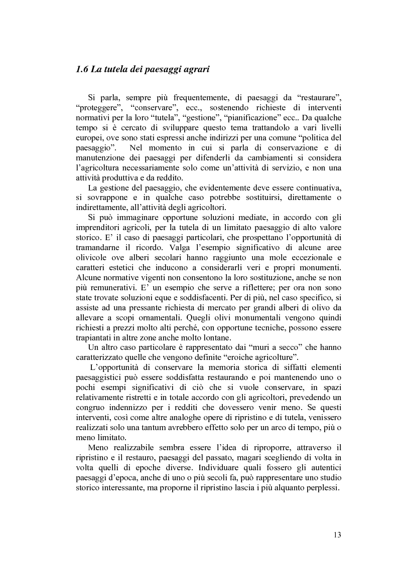Anteprima della tesi: Il paesaggio agrario e le politiche paesaggistiche della regione Umbria, Pagina 10