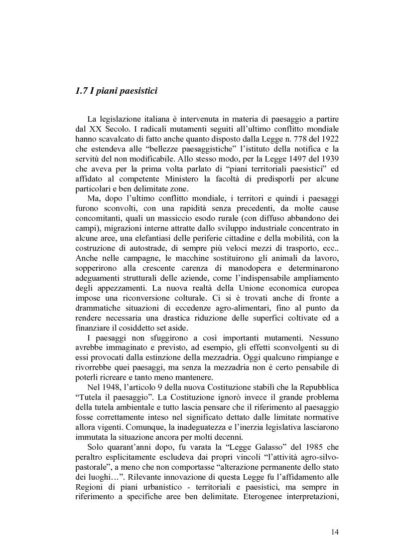 Anteprima della tesi: Il paesaggio agrario e le politiche paesaggistiche della regione Umbria, Pagina 11