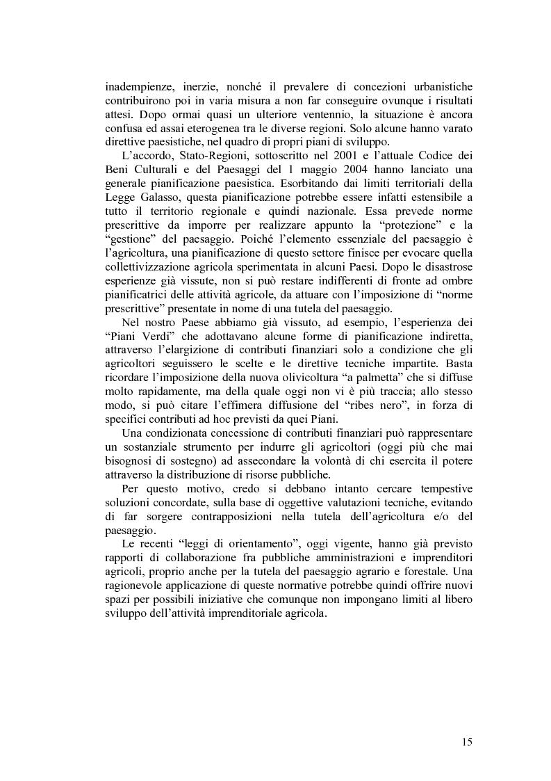 Anteprima della tesi: Il paesaggio agrario e le politiche paesaggistiche della regione Umbria, Pagina 12