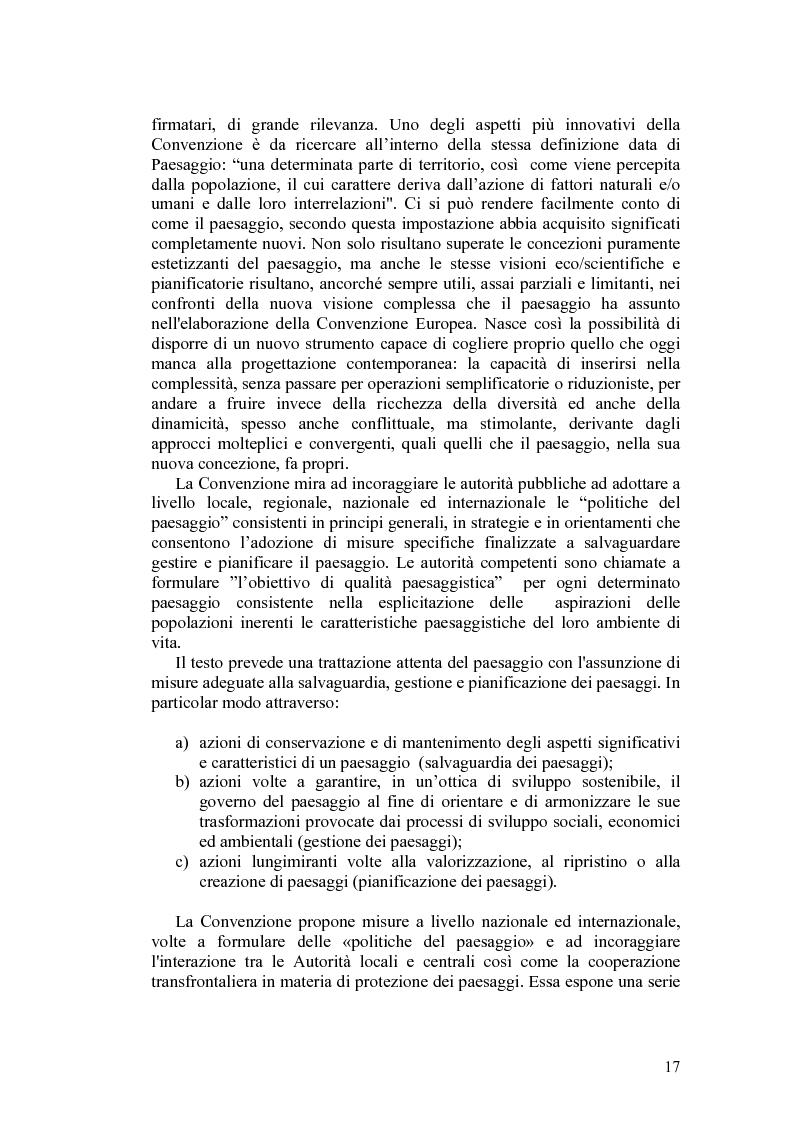 Anteprima della tesi: Il paesaggio agrario e le politiche paesaggistiche della regione Umbria, Pagina 14