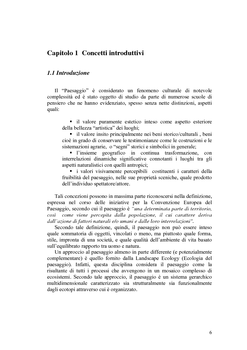 Anteprima della tesi: Il paesaggio agrario e le politiche paesaggistiche della regione Umbria, Pagina 3