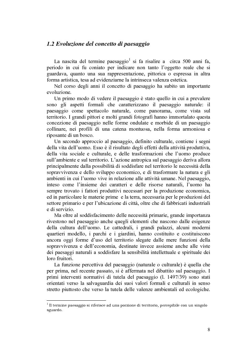 Anteprima della tesi: Il paesaggio agrario e le politiche paesaggistiche della regione Umbria, Pagina 5