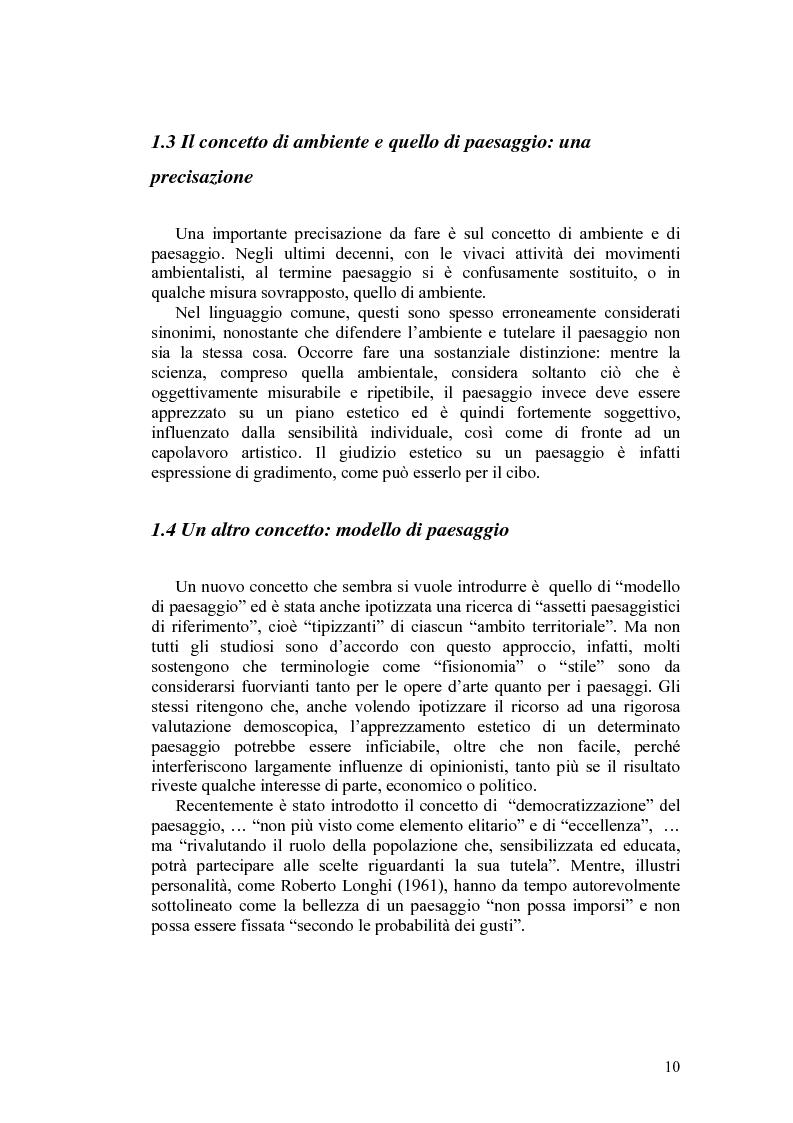 Anteprima della tesi: Il paesaggio agrario e le politiche paesaggistiche della regione Umbria, Pagina 7