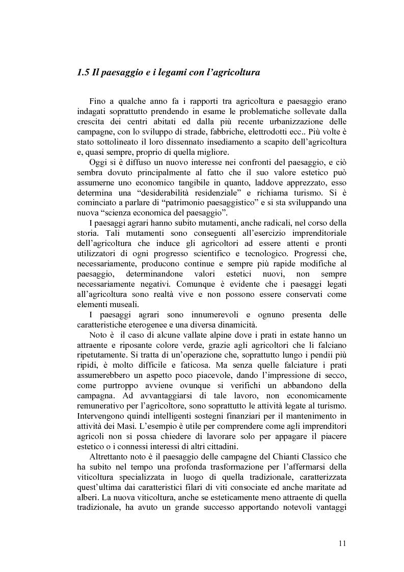 Anteprima della tesi: Il paesaggio agrario e le politiche paesaggistiche della regione Umbria, Pagina 8