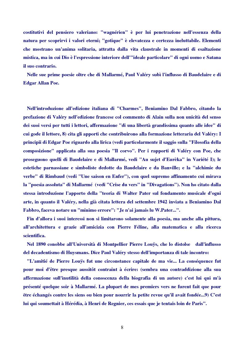 Anteprima della tesi: Paul Valéry, Pagina 7