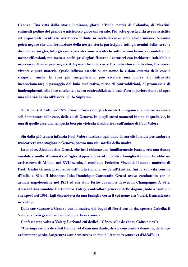 Anteprima della tesi: Paul Valéry, Pagina 9