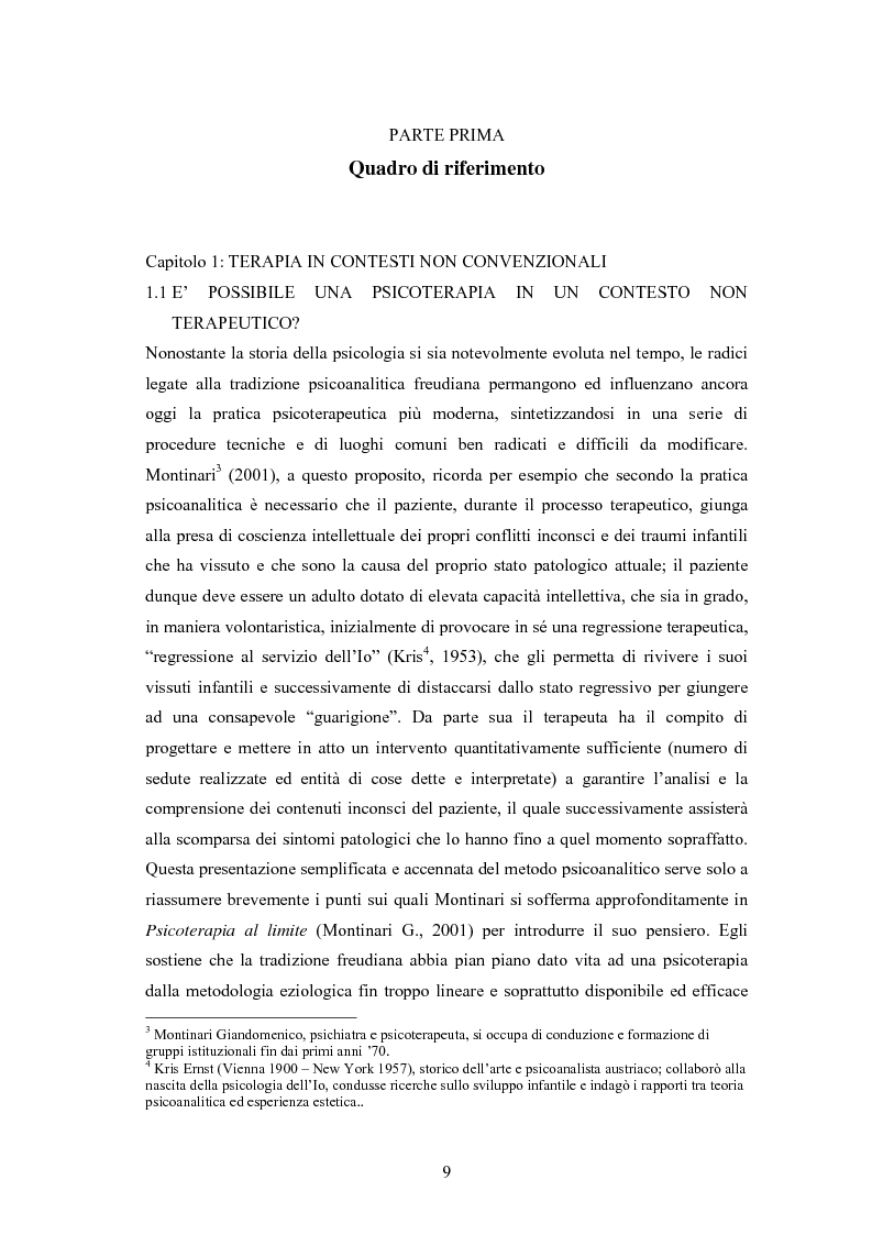 Anteprima della tesi: L'arte terapia in carcere: valenze terapeutiche e risocializzanti, Pagina 5