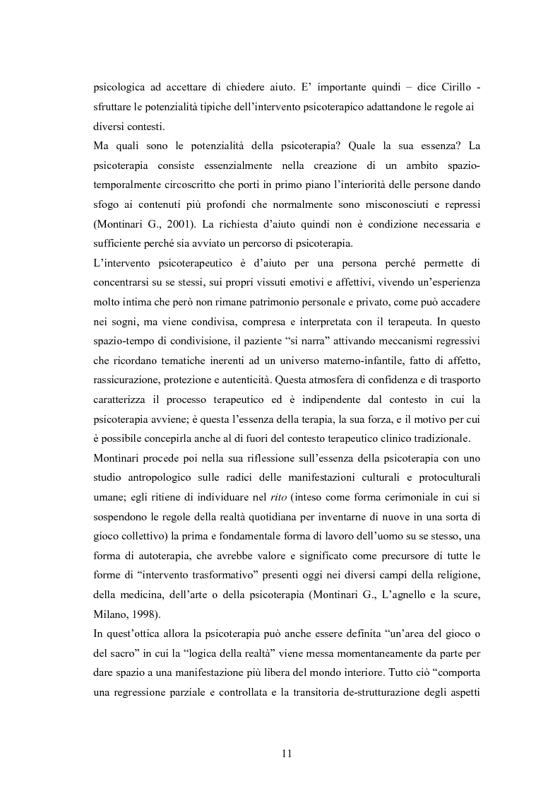 Anteprima della tesi: L'arte terapia in carcere: valenze terapeutiche e risocializzanti, Pagina 7