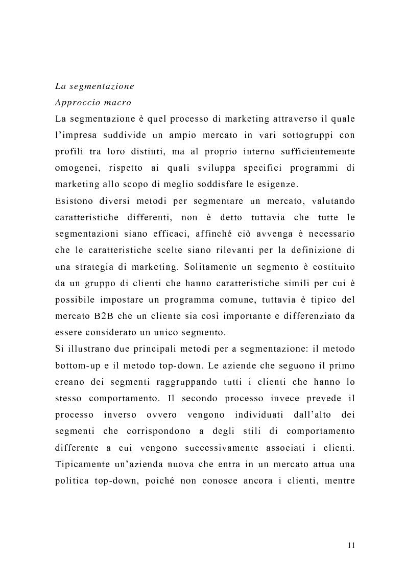 Anteprima della tesi: Il piano di Marketing: sviluppo e attuazione - Il caso Mungo, Pagina 8