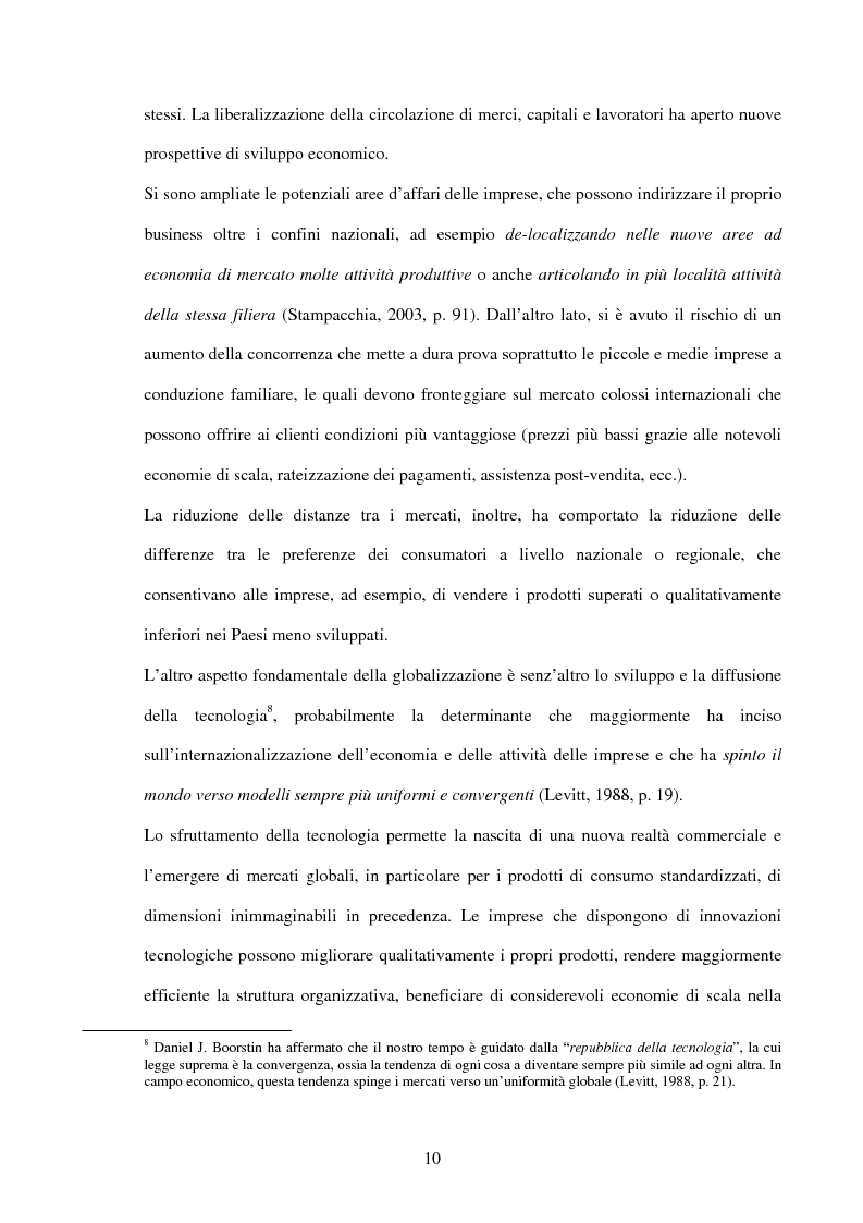 Anteprima della tesi: La comunicazione di marketing delle imprese internazionali, Pagina 7