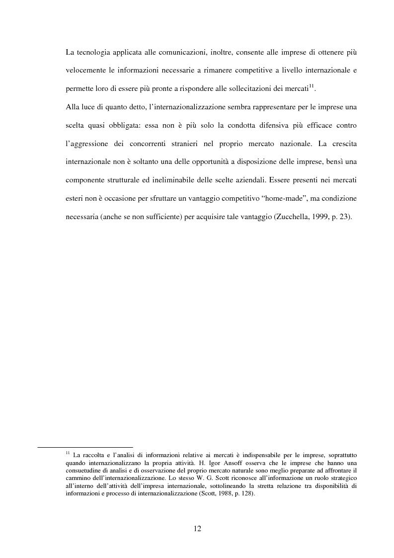 Anteprima della tesi: La comunicazione di marketing delle imprese internazionali, Pagina 9