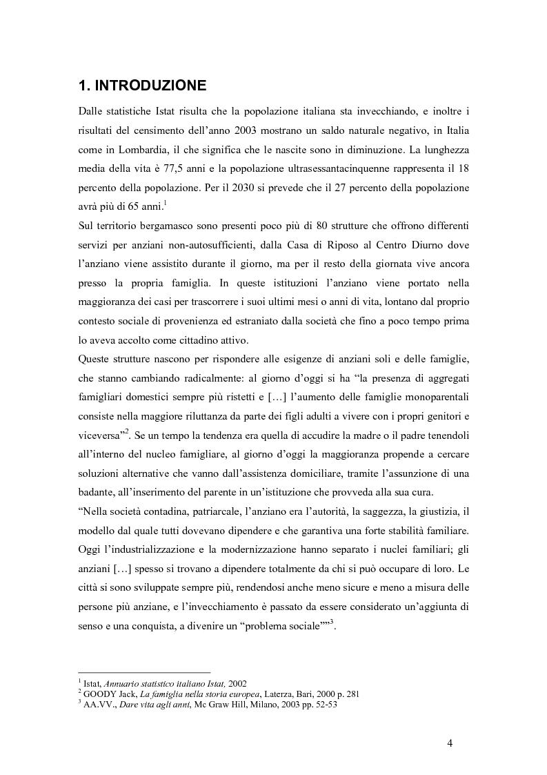 Anteprima della tesi: Viandante sul mare di nebbia: life skills per la promozione del benessere in RSA, Pagina 1