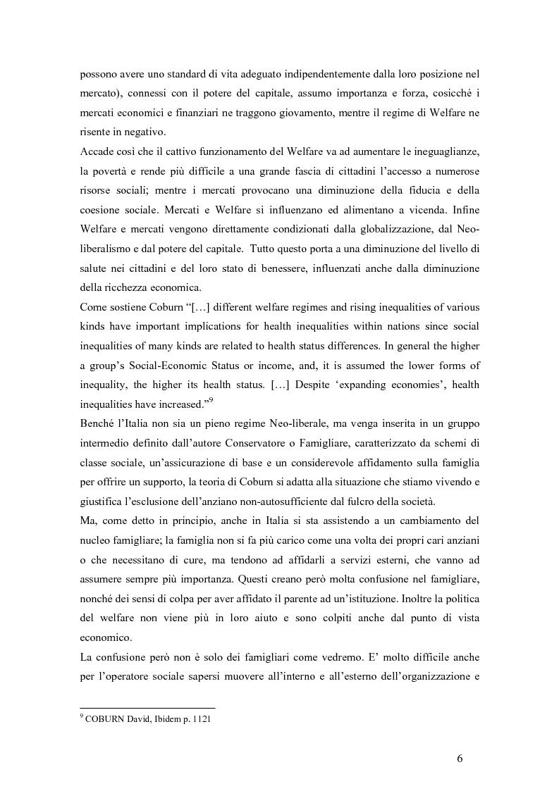 Anteprima della tesi: Viandante sul mare di nebbia: life skills per la promozione del benessere in RSA, Pagina 3