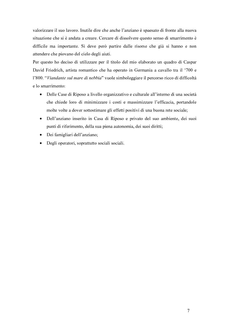 Anteprima della tesi: Viandante sul mare di nebbia: life skills per la promozione del benessere in RSA, Pagina 4