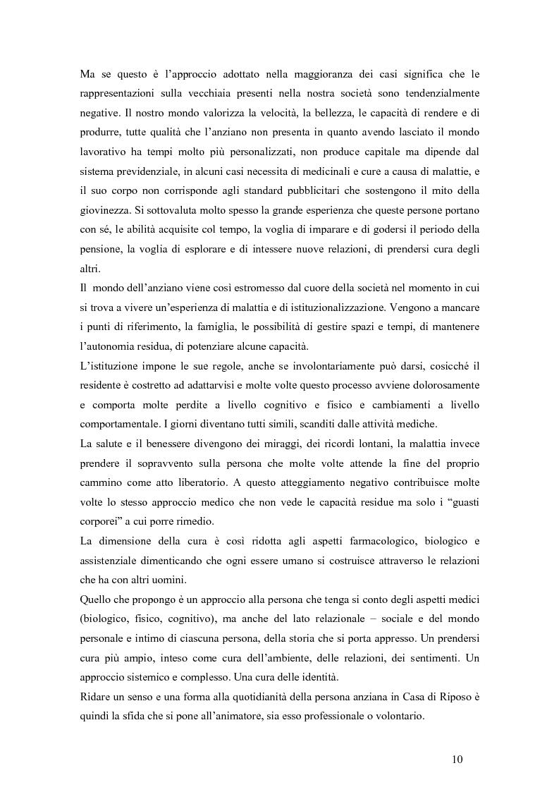 Anteprima della tesi: Viandante sul mare di nebbia: life skills per la promozione del benessere in RSA, Pagina 7