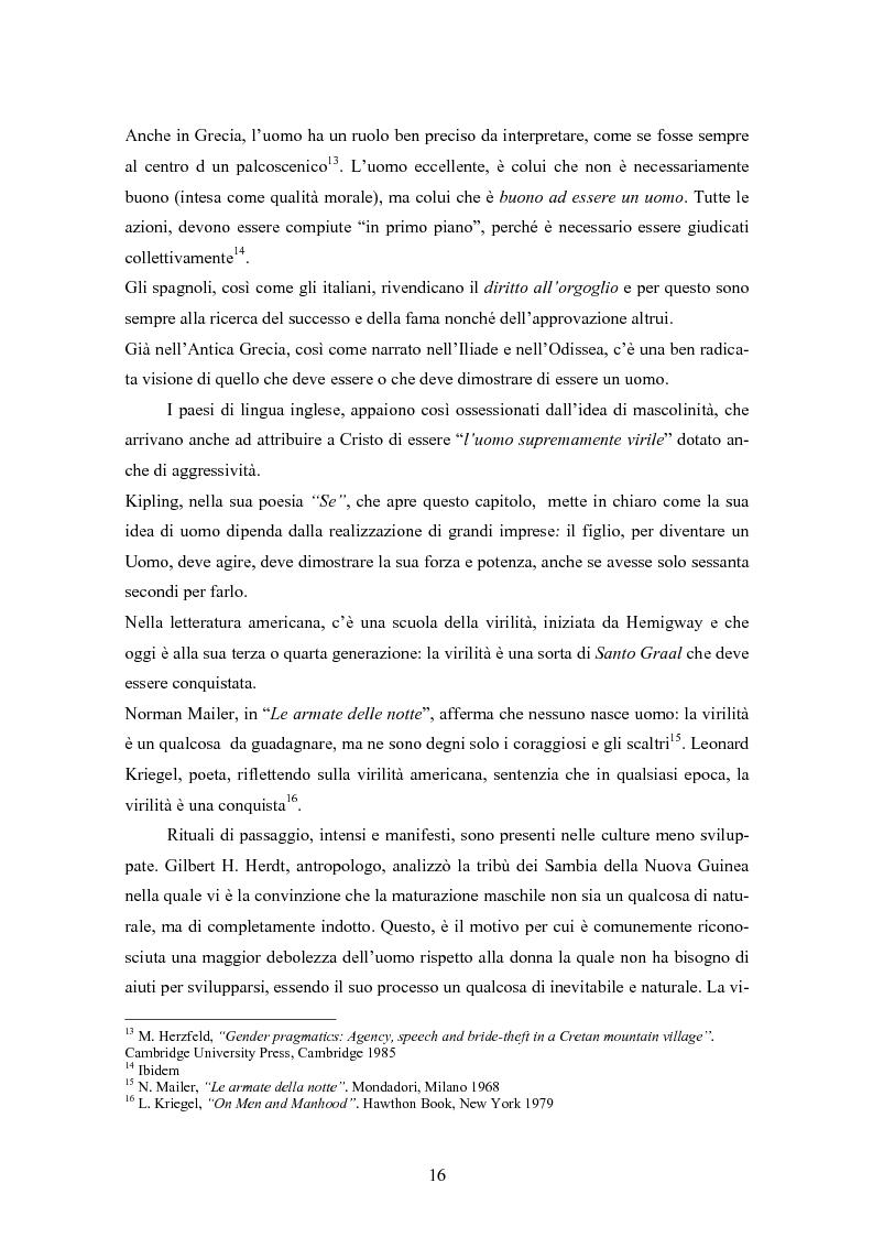 Anteprima della tesi: Gli uomini... il secondo sesso? Considerazioni mascoliniste sulla condizione dell'uomo, Pagina 10