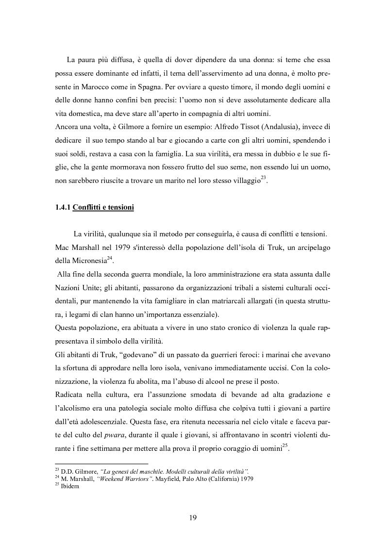 Anteprima della tesi: Gli uomini... il secondo sesso? Considerazioni mascoliniste sulla condizione dell'uomo, Pagina 13