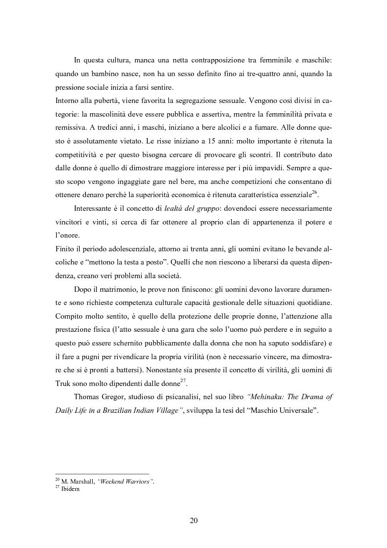 Anteprima della tesi: Gli uomini... il secondo sesso? Considerazioni mascoliniste sulla condizione dell'uomo, Pagina 14