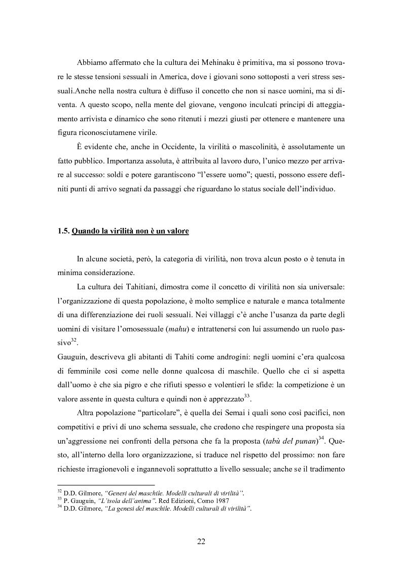 Anteprima della tesi: Gli uomini... il secondo sesso? Considerazioni mascoliniste sulla condizione dell'uomo, Pagina 16